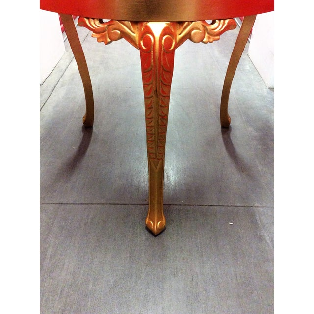Gold Round Entry Table - Image 8 of 9