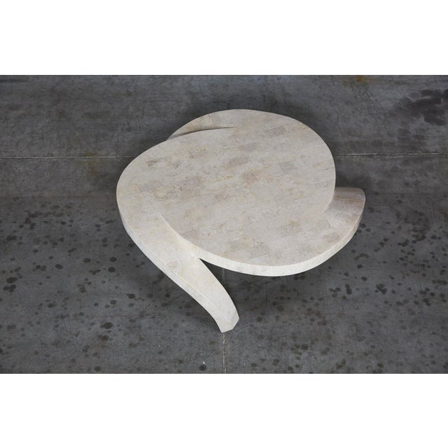 """1990s Post-Modern Tessellated Cantor Stone """"Hurricane"""" Coffee Table For Sale - Image 9 of 10"""