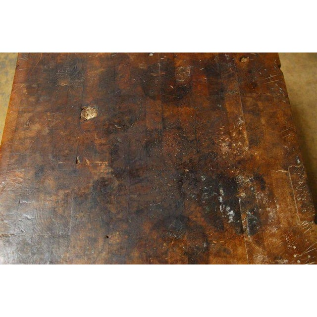 Michigan Maple Wood-Welded Table Top Butcher Block For Sale In San Francisco - Image 6 of 10