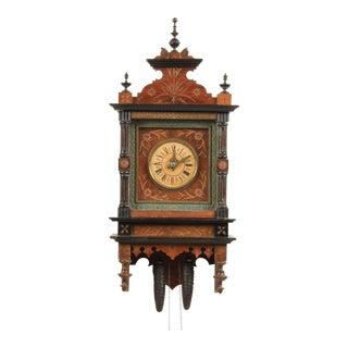 19th-C. Dutch Wall Clock