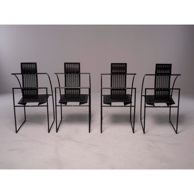 Alias Alias Italian Botta Quinta Op Art Dining Chairs - Set of 8 For Sale - Image 4 of 13