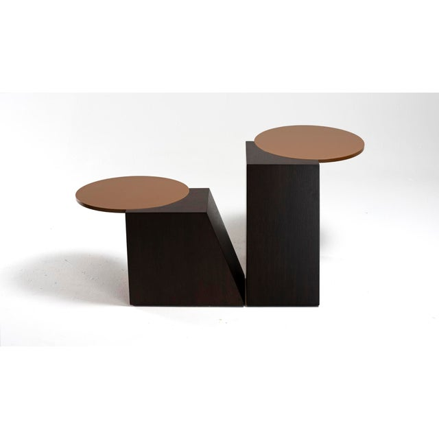 2010s V Tables by Jason Mizrahi - a Pair For Sale - Image 5 of 7