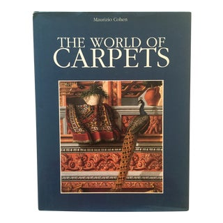 """The World of Carpets"" Vintage Book by Maurizio Cohen"