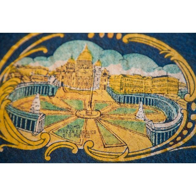 Roman Singers Felt Flag For Sale - Image 4 of 5