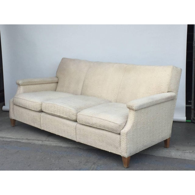 Wood 1950s Vintage French Sofa For Sale - Image 7 of 7