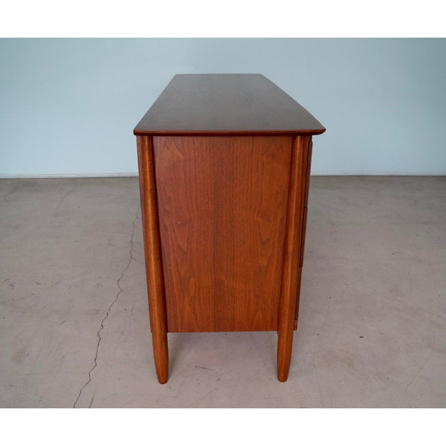 La Period Mid-Century Modern Lowboy Dresser For Sale - Image 4 of 13