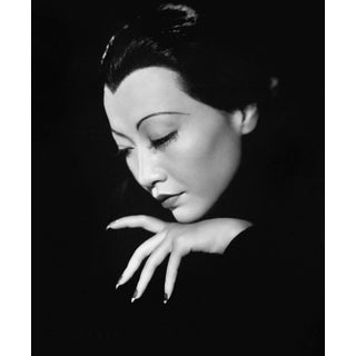 Anna May Wong Portrait, C.1930s (16x20 Canvas) For Sale