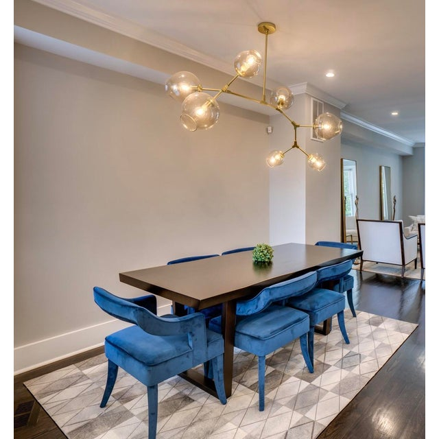 Mid-Century Modern Mitchell Gold + Bob Williams Kimora Dining Table For Sale - Image 3 of 5