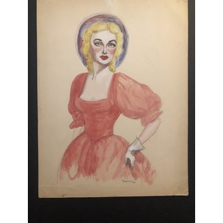 1952 Portrait of a Lady in a Dress Preview