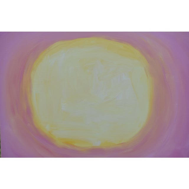 """Stephen Remick Stephen Remick """"Good Morning, Sunshine"""" Contemporary Painting For Sale - Image 4 of 12"""