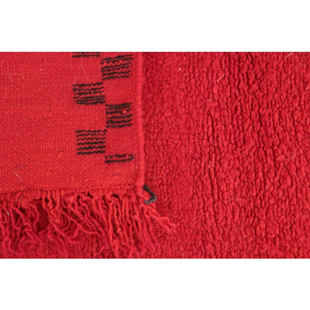 """Boujad Vintage Moroccan Rug - 2'0"""" x 3'7"""" For Sale - Image 4 of 4"""