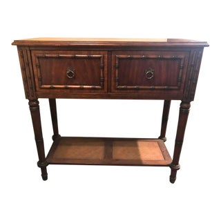 20th Century Art Nouveau Bamboo Sideboard For Sale
