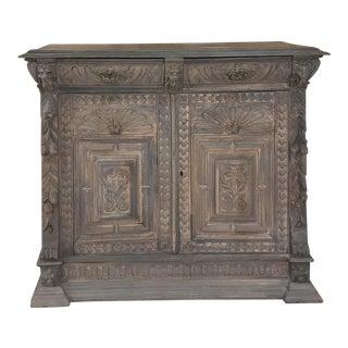 This 19th Century Flemish Renaissance Oak Buffet For Sale