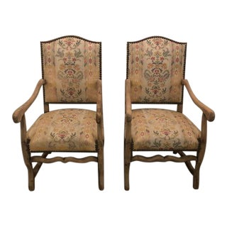 18th Century Mouton Chairs - a Pair For Sale