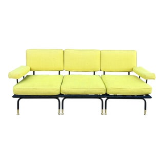 Vintage Mid-Century Modern Sofa by Troy Sunshade Company