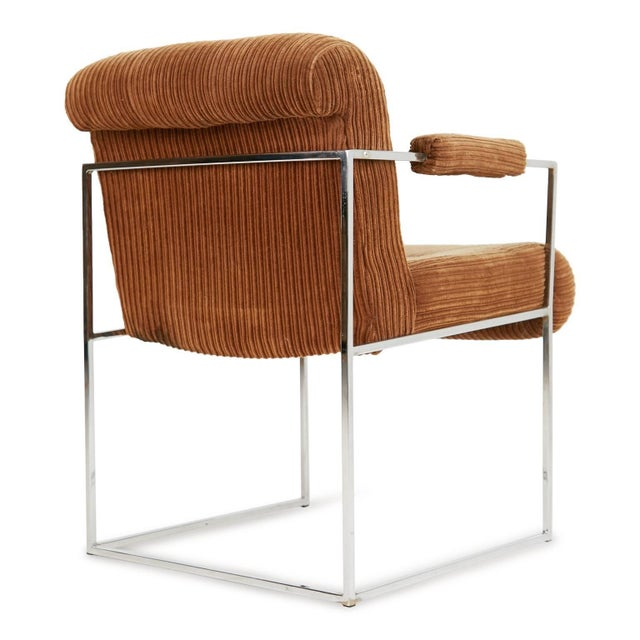 1970s 1970s Milo Baughman for Thayer Coggin Dining Armchairs - a Pair For Sale - Image 5 of 9