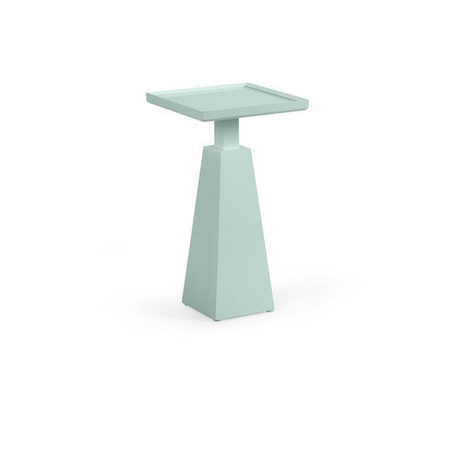 Traditional Casa Cosima Hayes Spot Table, Palladian Blue For Sale - Image 3 of 3