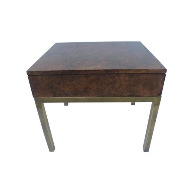 Tomlinson Burlwood End Table - Image 1 of 11