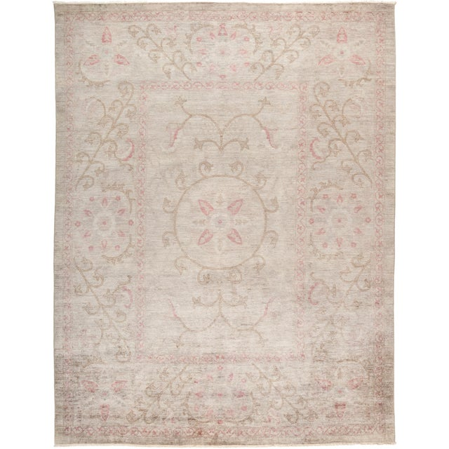 """Vibrance Hand Knotted Area Rug - 9' 1"""" X 11' 6"""" - Image 4 of 4"""