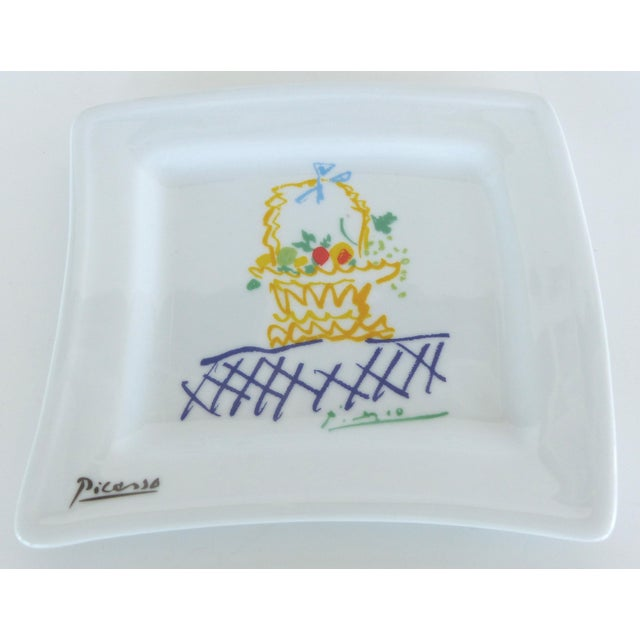 Pablo Picasso Italian Picasso Tea & Coffee Lunch Set For Sale - Image 4 of 10