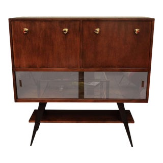 1950s Italian Dry Bar or Cabinet For Sale