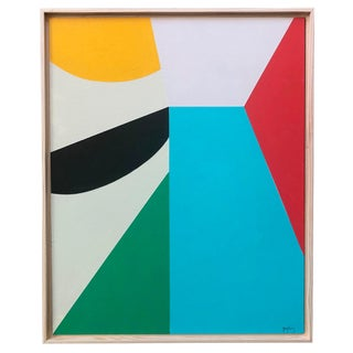 8 Color Modern Abstract Painting by Tony Curry For Sale