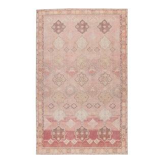 """Vibe by Jaipur Living Bijou Medallion Pink/ Orange Area Rug - 5' x 7'6"""" For Sale"""