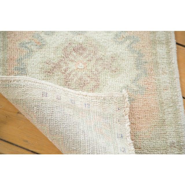 "Vintage Oushak Distressed Rug - 1'8"" x 2'10"" - Image 5 of 5"