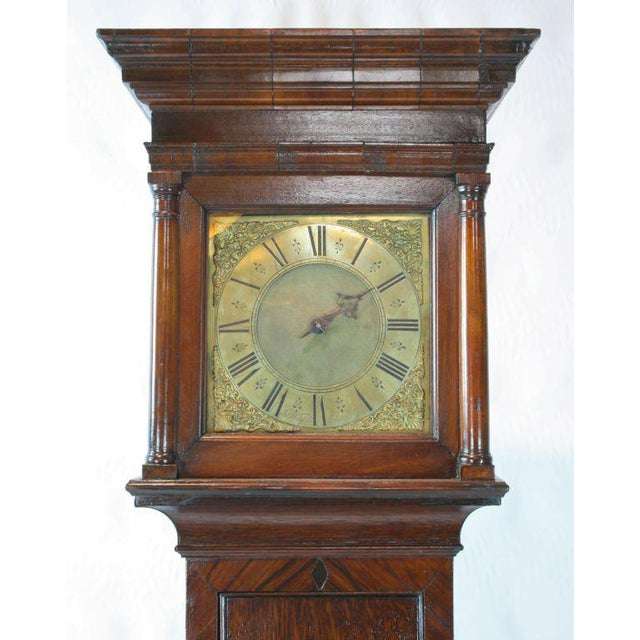 English Traditional English Tall Case Clock For Sale - Image 3 of 8