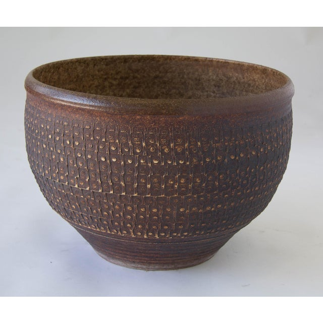 Bob Kinzie Bowl Planter for Affiliated Craftsmen - Image 6 of 7