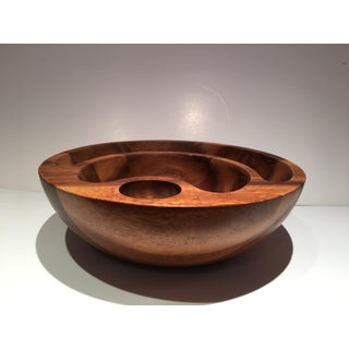 Nambe Wooden Bowl Preview