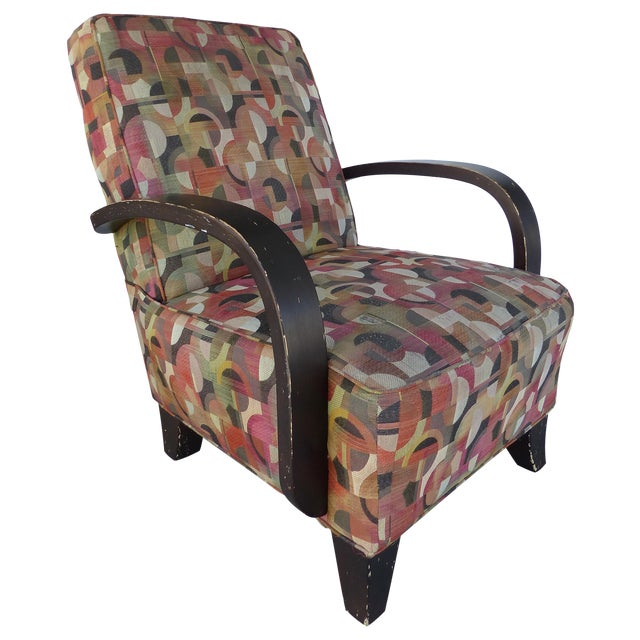 Mid-century Modern Donghia Style Lounge Chair - Image 1 of 8