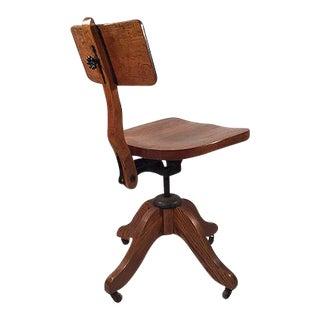 Oak Desk Chair c. 1930
