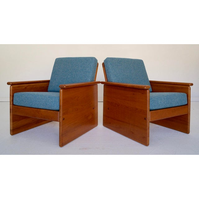 Tarm Stole Vintage Tarm Stole Teak Lounge Chairs - A Pair For Sale - Image 4 of 10