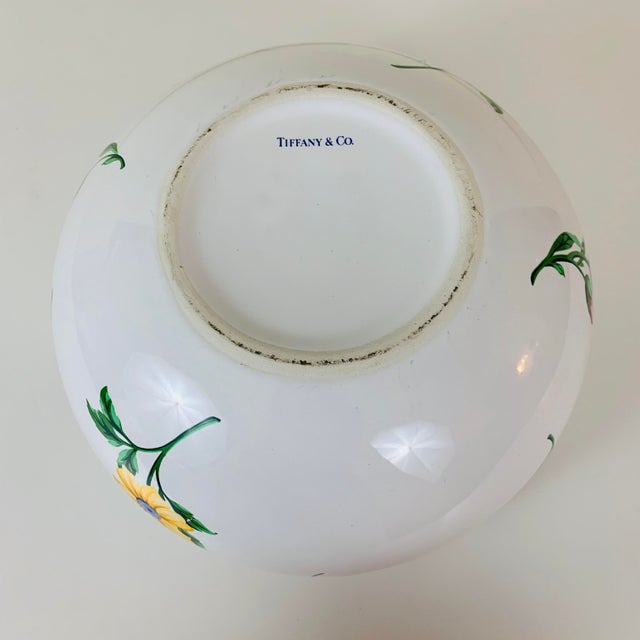 Late 20th Century Tiffany & Co. Porcelain Sintra Serving Bowl For Sale - Image 5 of 8