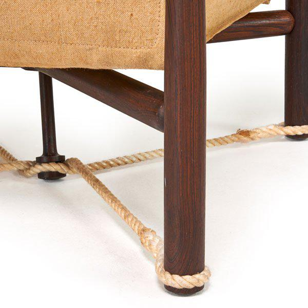 Erik Magnussen Danish Mid-Century Campaign Table - Image 4 of 4