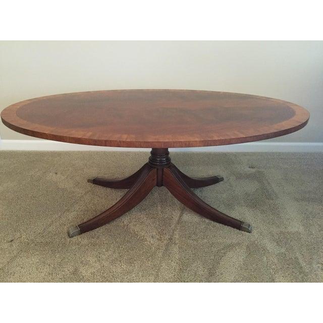 Ethan Allen Trevor Coffee Table: Ethan Allen Thornton Coffee Table