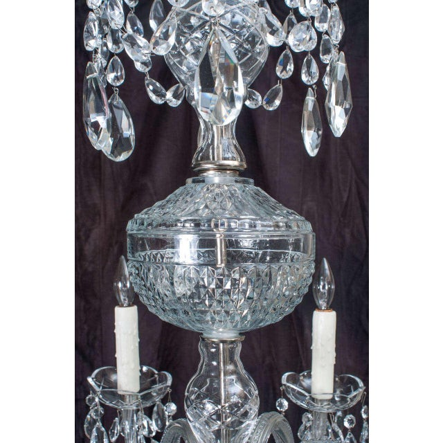 Neoclassical Style Crystal Chandelier For Sale In Washington DC - Image 6 of 11