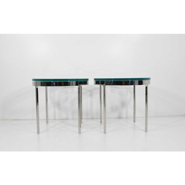 Nicos Zographos Side Tables - A Pair For Sale - Image 9 of 9