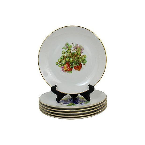 Vintage Dessert Plates- Set of 6 For Sale In Raleigh - Image 6 of 9
