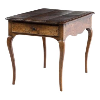 Charming 18th Century Provincial Side Table For Sale
