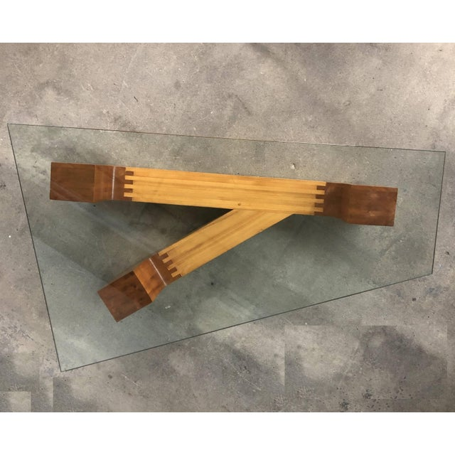 Mid-Century Modern Sculptural Coffee Table by Jennie Lea Knight For Sale - Image 3 of 10