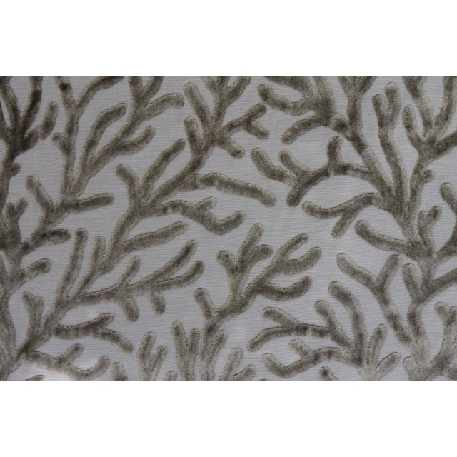Brunschwig and Fils Reef Figured Velvet Fabric-3yds For Sale In New Orleans - Image 6 of 10