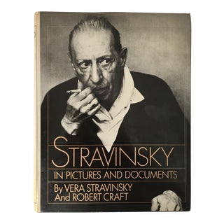"""STRAVINSKY""-Coffee Table Book-1978 For Sale"