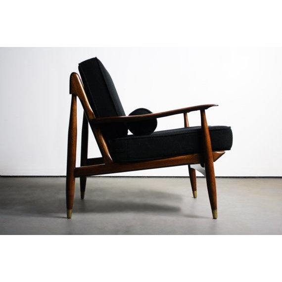 Finn Juhl Attributed Walnut Lounge Chair - Image 4 of 6