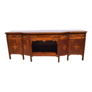 1810 Thomas Sheraton Large Mahogany Sideboard For Sale