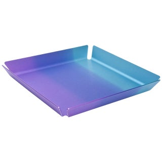 Limited Edition Art Basel Anodized Aluminum Serving Tray For Sale