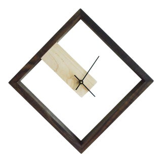 Modern Frame Wall and Table Clock by The Iron Roots Designs For Sale