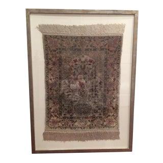 Framed Silk Hereke Rug