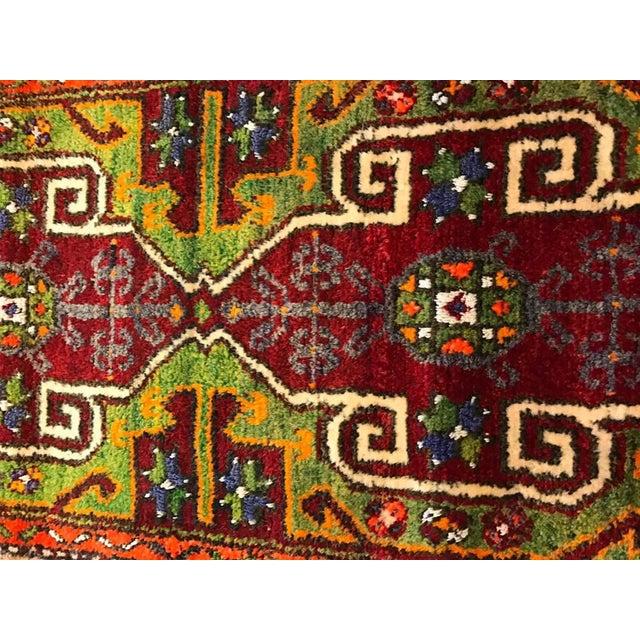 "Vintage Baho Anatolian Turkish Rug - 1'8"" X 4'2"" - Image 5 of 7"